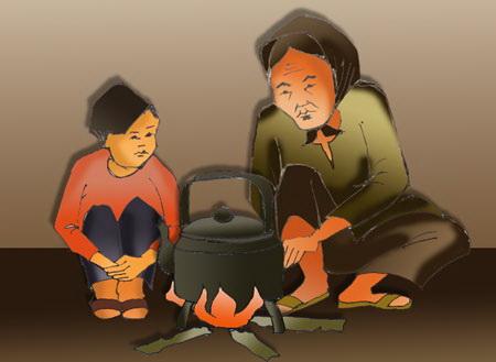 Hướng dẫn soạn bài Bếp Lửa – Bằng Việt chương trình Văn 9