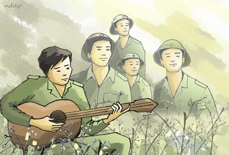 Soạn bài Đồng Chí Chính Hữu trong Ngữ Văn 9