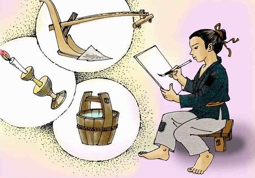 Tóm tắt và ý nghĩa truyện Cây bút thần Ngữ Văn lớp 6