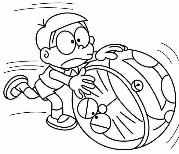 Tô màu Nobita