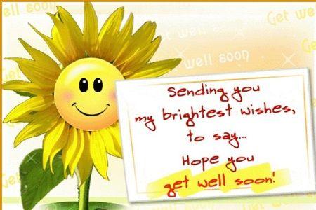 Lời chúc mau khỏi bệnh, chúc sức khỏe cho bạn bè người yêu