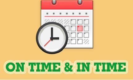On time và in time: phân biệt, cách dùng đúng nhất