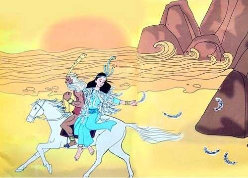 Đóng vai An Dương Vương kể lại câu chuyện An Dương Vương Mị Châu Trọng Thủy