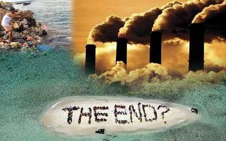 Dàn ý nghị luận về ô nhiễm môi trường sống