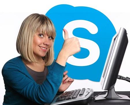 Học tiếng Anh qua Skype miễn phí với người nước ngoài