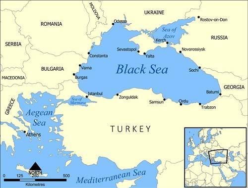 Biển Đen ở đâu? Tại sao gọi là Biển Đen