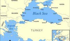 biển đen ở đâu