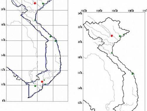Cách vẽ bản đồ Việt Nam trên giấy A4 nhanh đơn giản nhất