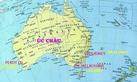 Châu Úc có bao nhiêu nước? Gồm những nước nào