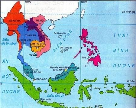 Đông Nam Á có bao nhiêu nước? Tên thủ đô các nước Đông Nam Á