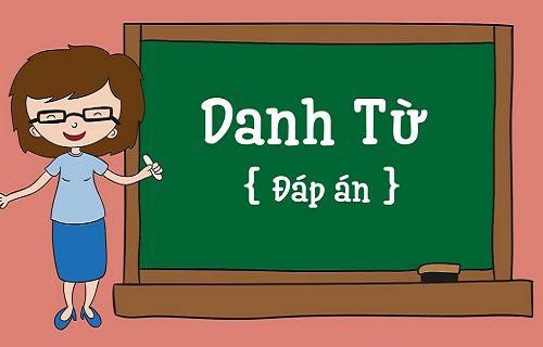 Bài tập về danh từ Tiếng Anh có đáp án