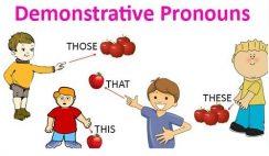 Các đại từ chỉ định trong Tiếng Anh