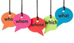 Đại từ nghi vấn trong Tiếng Anh