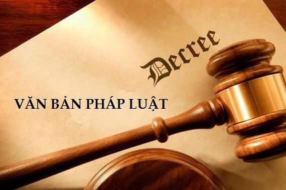 Bộ luật, Thông tư, Nghị định, Nghị quyết, Hiến pháp tiếng Anh là gì?