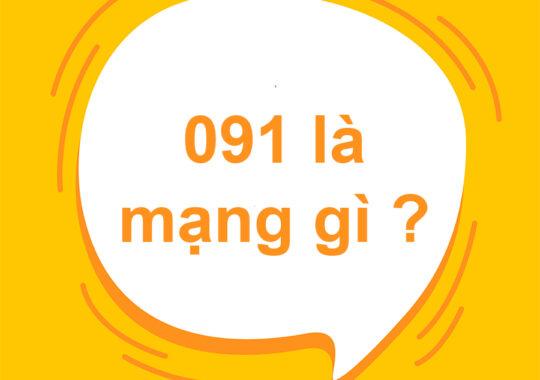 091 là mạng gì? Giải mã ý nghĩa đầu số 091